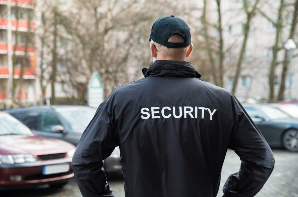 SIA Licensed Static Security Guard Required