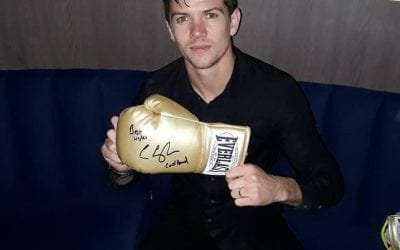 Unisec Security Competition – winner of Luke Campbell signed gloves announced!