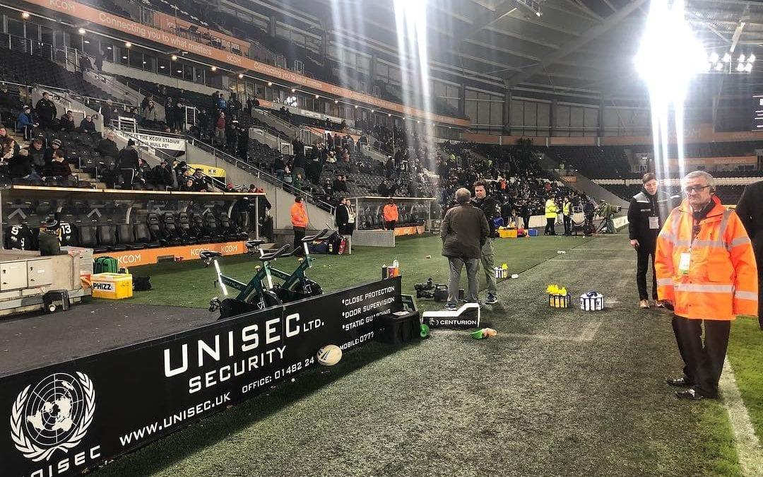 Unisec Ltd Security – proud to sponsor Hull FC