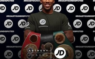 Providing the Security Service for Anthony Joshua's Belts